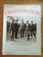 L'ILLUSTRATION 1935 N°4828 Président aux grandes manœuvres de champagne