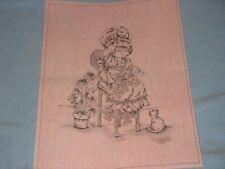 * Tri Chem 8397 Pink Girl Plant Flowers Cat Bonnet Picture Trichem