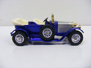 Matchbox Models Of Yesteryear Y2 1914 Prince Henry Vauxhall Blue