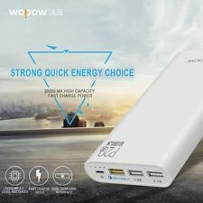 Wopow P20Q Universal Quick Charge Battery Capacity 20000mAh Power Bank GH