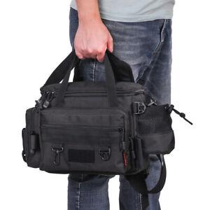 Angeltasche Spinnertasche Angelzubehör Tackle Bag Gürteltasche Gerätetasche A4H4