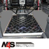 LAND ROVER DEFENDER 90 SOUND DEADENING PRE-CUT REAR TUB FLOOR KIT. PART DA8086