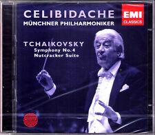Sergiu Celibidache: Tchaikovsky Symphony No. 4 The Nutcracker 2cd della SCHIACCIANOCI