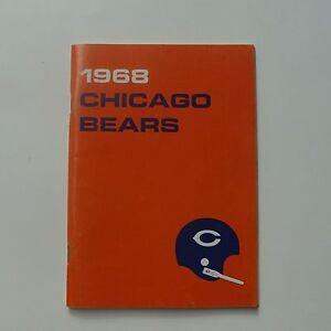 1968 CHICAGO BEARS  Media Guide