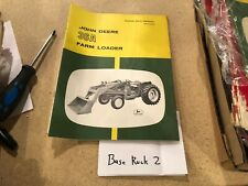 JOHN DEERE 36A FARM LOADER OPERATORS MANUAL