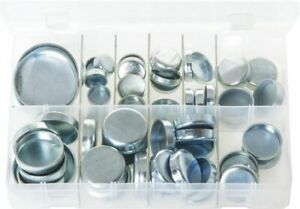 CORE PLUG CUP TYPE IMPERIAL MILD STEEL ASSORTED BOX 38 PIECES  -  AB30N