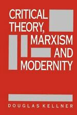 Critical Theory, Marxism, and Modernity (Parallax: Re-visions of Culture and Soc