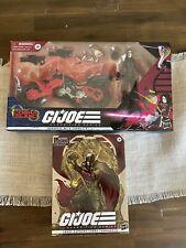 Hasbro G.I. Joe Classified Baroness with C.O.I.L.   And Supreme Cobra Commander