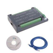 NVEM 6 Axis CNC Controller MACH3 Ethernet Interface Board Card Fr Stepper Motor