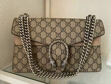 GUCCI Dionysus Small GG Shoulder Bag Handbag GG Supreme