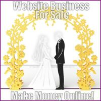 WEDDING DAY Website Earn £200 A SALE|FREE Domain|FREE Hosting|FREE Traffic