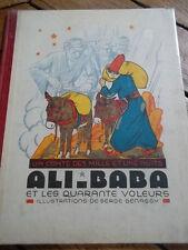 Galland* Histoire d'Ali-Baba et des quarante voleurs.Illustré par Bennessy