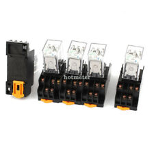 reed relays ebay 11 Pin Relay Wiring Diagram 3pdt 5 pcs hh53pl din rail mounting electromagnetic relay dc 24v coil 3pdt 11pin 35mm Alternating Relay Wiring Diagram