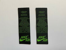 Nike Air Jordan 1 Pine Green Tongue Tag embroidered 1994 1985 2019 black 2020 23