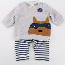 NEXT Junge Baby Fuchs Pullover Outfit Kombi Set 50/56 Englandmode NEU w