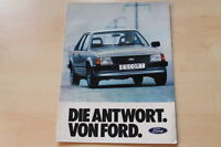 71358) Ford Escort Prospekt 07/1980