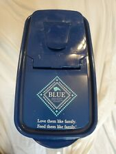 Blue Buffalo Dry Dog Food Storage Container For Small Bag/ 2 Gallons