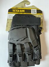 Valken V-Tac Half Finger Airsoft Gloves Xs=S Black