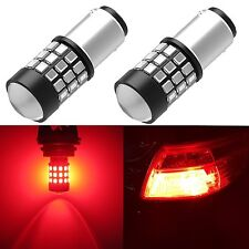 Alla Lighting 2825 39-SMD 1157 BAY15D Super Red LED Brake Tail Stop Lights Bulbs