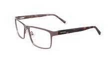 Converse eyeglasses Q047 in Brown w/ Tortoise Temples 54mm