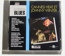 CANNED HEAT ET JOHNNY WINTER . LES GÉNIES DU BLUES . CD
