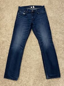 Banana Republic Vintage Straight Jeans Denim Men's Size 33x33 (6-14)