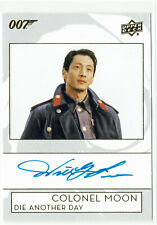 James Bond Collection 2019 Autograph Card A-WL Will Yun Lee as Colonel Moon
