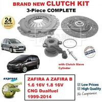FOR ZAFIRA A B 1.6 16V 1.8 16V CNG Dualfuel 1999-2014 NEW 3PC CLUTCH KIT and CSC