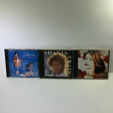 Shania Twain Lot of 3 Music Audio CD - Come On Over