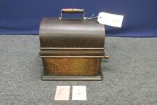 1903 Thomas A Edison Standard Cylinder Phonograph Antique Wind up Hand Crank