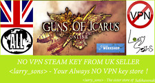 Guns of Icarus Online Steam key NO VPN Region Free UK Seller