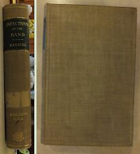 INFECTIONS OF HAND BY KANAVEL SURGICAL TREATMENT FINGERS HAND FOREARM 1933