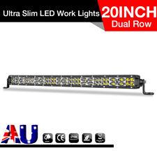 "20""inch LED Light Bar Spot Flood Work Driving Offroad SUV 4WD Super Slim 20"" 23"""