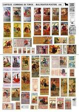 BULLFIGHTER POSTERS AND ADVERTISING  1/35 SCALE