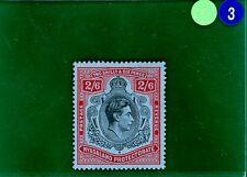 Grblue 3 NYASALAND 1938 2s/6d * PIASTRA Chiave * valore elevato vlmm in perfetta condizione Nuovo di zecca SG.140
