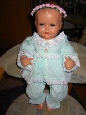 *Schöne alte Puppenkleidung für Strampelchen 56cm* Body, Hose, Bluse, Haarkranz*