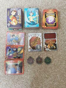 Jackie Chan Adventures Bundle - Trading Cards + 3 Talismans