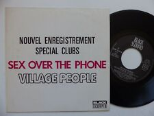 VILLAGE PEOPLE Sex over the phone  SCM 1250 N  SPECIAL CLUB Pressage FRANCE RRR