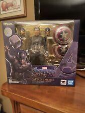 SH Figuarts Endgame Captain America Authentic Tamashii Nations Final Battle Ed.