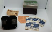 Vintage View Master Stereoscope Bakelite in Original Box *Instructions & 3-Reels