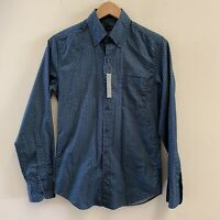 J Crew Men's Slim Secret Wash shirt in foulard NWT