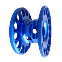 Blue Aluminum Alloy Scuba Diving Spool Dive Finger Reel - Compact & Durable