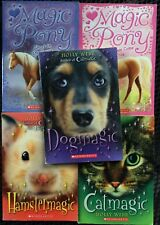 Lot of 5 Animal Magic Chapter Books: Dog, Cat, Hamster, Pony VGC Paperback