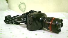 High Power Zoom LED Indoor or Outdoor Headlamp TK27