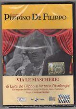 dvd IL TEATRO DI PEPPINO DE FILIPPO HOBBY & WORK Via le maschere!
