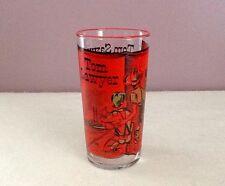 Vintage Libbey Storybook Glass 1953 Tom Sawyer