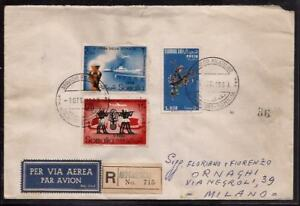 GR2260  - SOMALIA AFIS - RACCOMANDATA AEREA PER MILANO