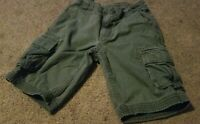 BOY'S HANNA ANDERSSON GRAY Cargo Shorts SIZE 110 US 5