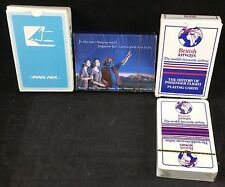 Airline Playing Cards, 3 Different Decks From Pan-Am, Singapore, British Airways