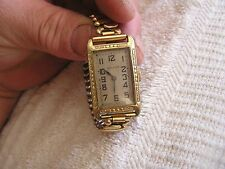 Vintage Benrus 15 Jewels Watch with Art Deco Dial Case